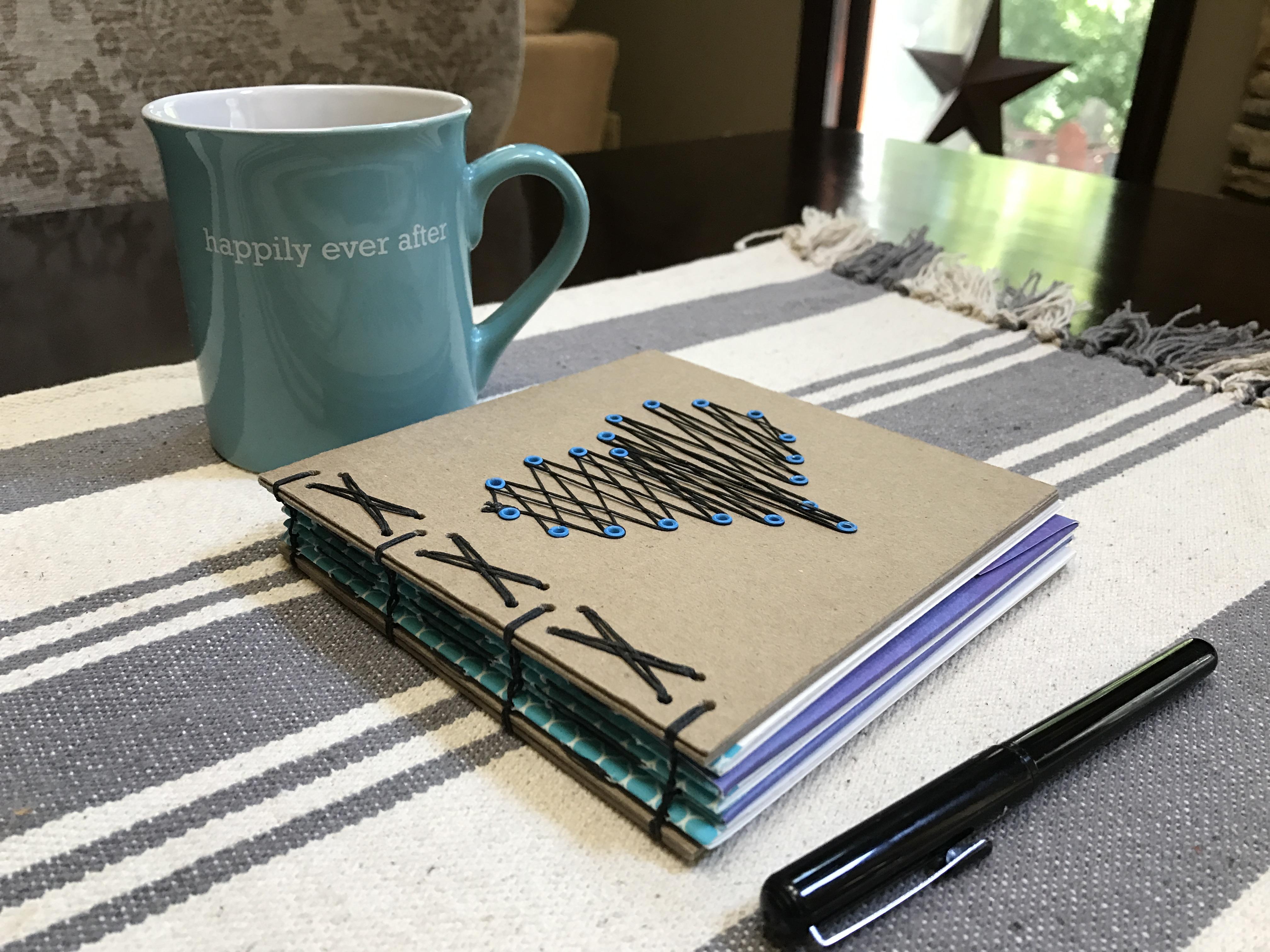 Heart String Love Notes Journal