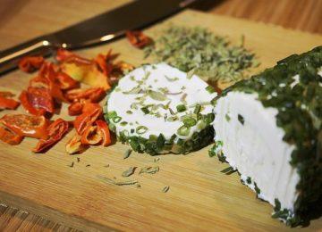 Kefir Cheese with Herbs
